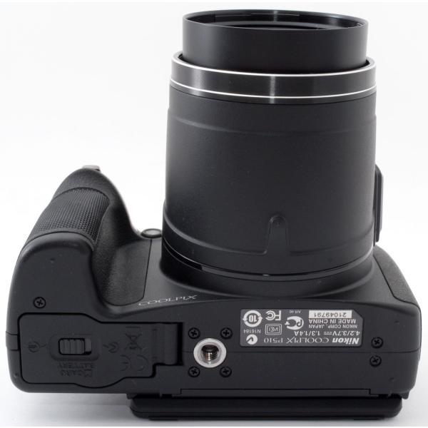デジカメ 中古 スマホに送れる Nikon ニコン COOLPIX P510 ブラック|i-camera-shop|07
