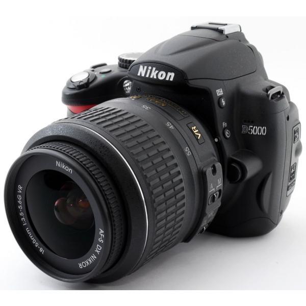 デジタル一眼   Wi-Fi対応 Nikon ニコン D5000 レンズキット