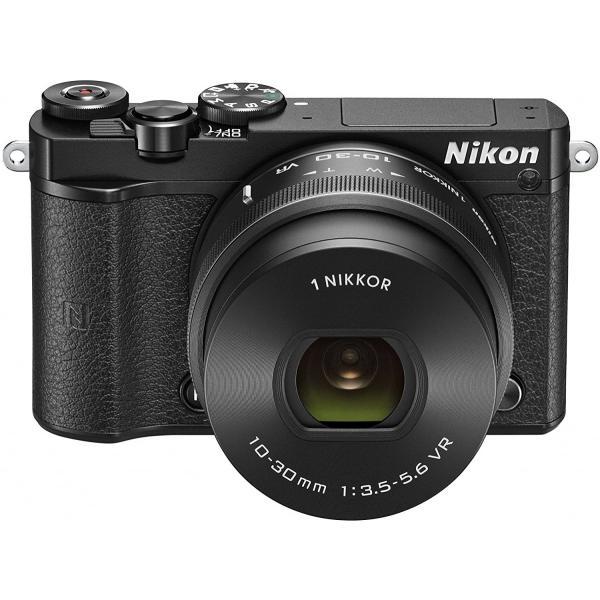 ニコン Nikon ミラーレス 中古 Wi-Fi搭載 Nikon 1 J5 ダブルズームレンズキット ブラック|i-camera-shop|02