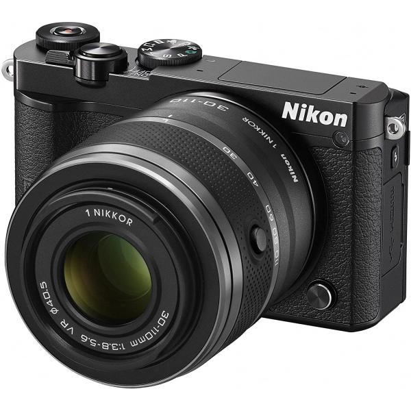 ニコン Nikon ミラーレス 中古 Wi-Fi搭載 Nikon 1 J5 ダブルズームレンズキット ブラック|i-camera-shop|03