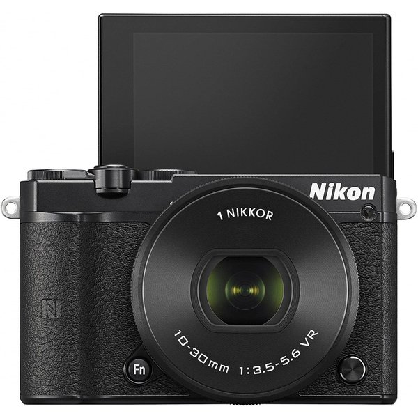 ニコン Nikon ミラーレス 中古 Wi-Fi搭載 Nikon 1 J5 ダブルズームレンズキット ブラック|i-camera-shop|04