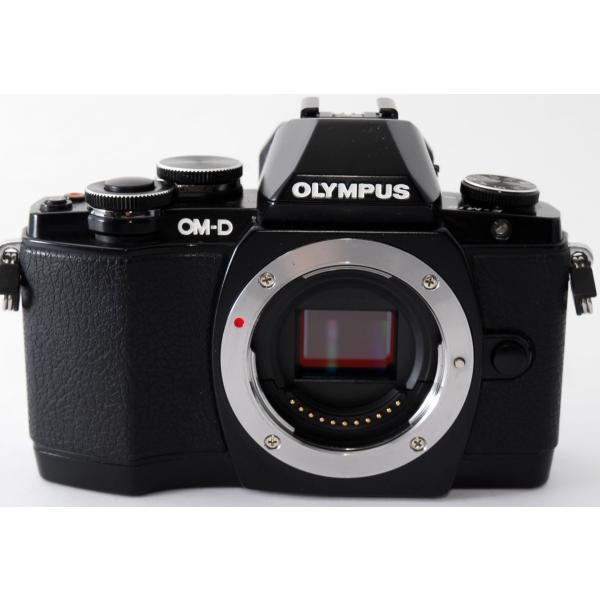 ミラーレス一眼  Wi-Fi OLYMPUS オリンパス OM-D E-M10 ブラック レンズキット