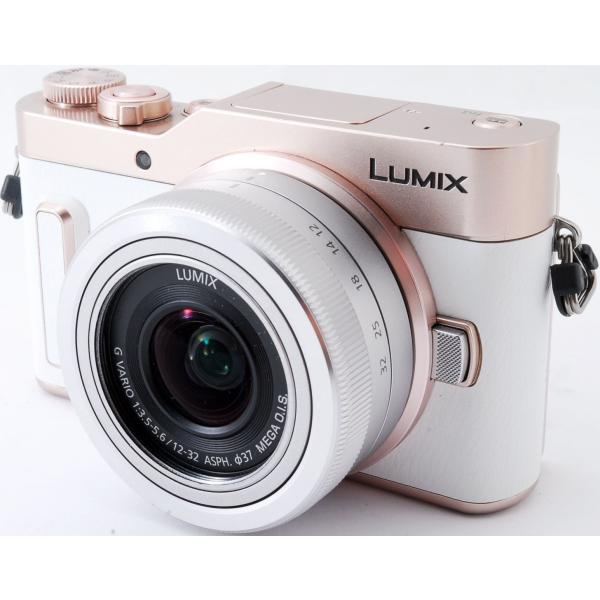 ミラーレス 中古 Wi-Fi搭載 Panasonic パナソニック LUMIX DC-GF10 レンズキット ホワイト|i-camera-shop