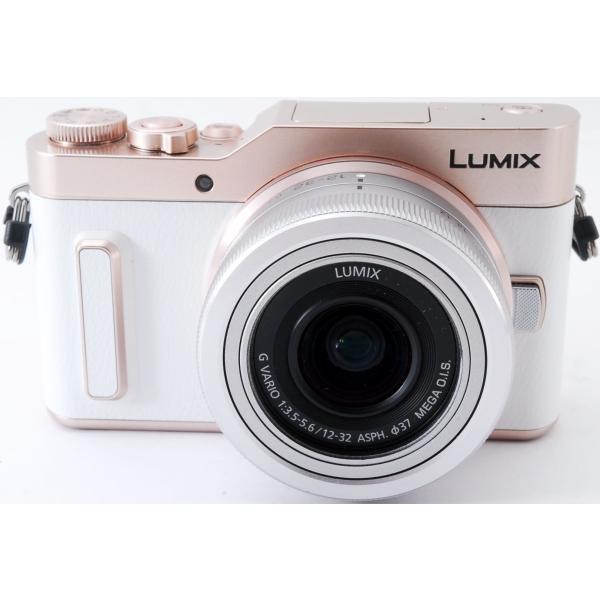 ミラーレス 中古 Wi-Fi搭載 Panasonic パナソニック LUMIX DC-GF10 レンズキット ホワイト|i-camera-shop|02