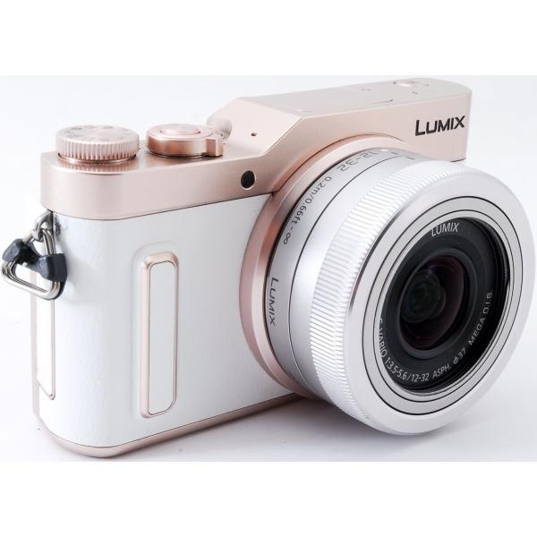 ミラーレス 中古 Wi-Fi搭載 Panasonic パナソニック LUMIX DC-GF10 レンズキット ホワイト|i-camera-shop|03