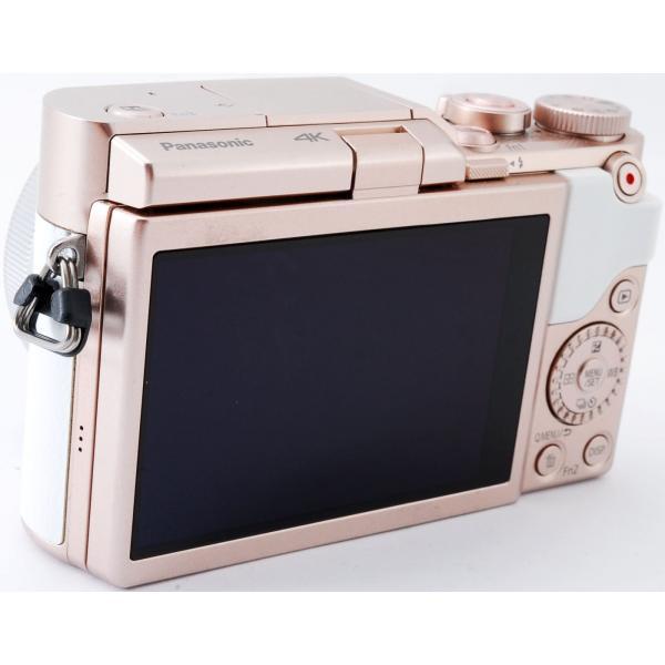 ミラーレス 中古 Wi-Fi搭載 Panasonic パナソニック LUMIX DC-GF10 レンズキット ホワイト|i-camera-shop|06