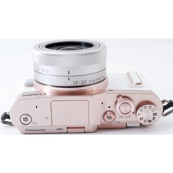 ミラーレス 中古 Wi-Fi搭載 Panasonic パナソニック LUMIX DC-GF10 レンズキット ホワイト|i-camera-shop|08