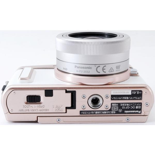 ミラーレス 中古 Wi-Fi搭載 Panasonic パナソニック LUMIX DC-GF10 レンズキット ホワイト|i-camera-shop|09