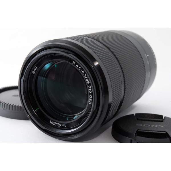 SONY ソニー おすすめ 望遠レンズ E 55-210mm F4.5-6.3 OSS SEL55210 ブラック