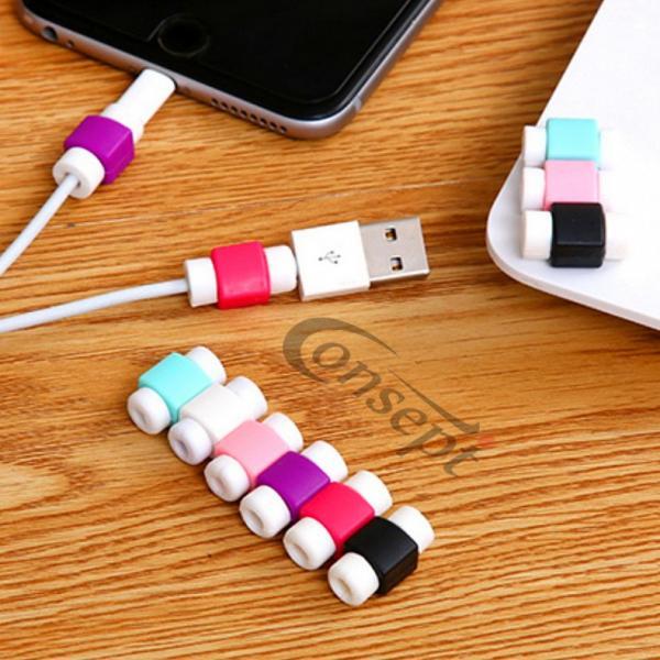 iPhone 充電器 ケーブル 保護 プロテクター iPhoneX iPhone8 iPhone7 iPad コード スリーブ ケース カバー アイフォン|i-concept|02