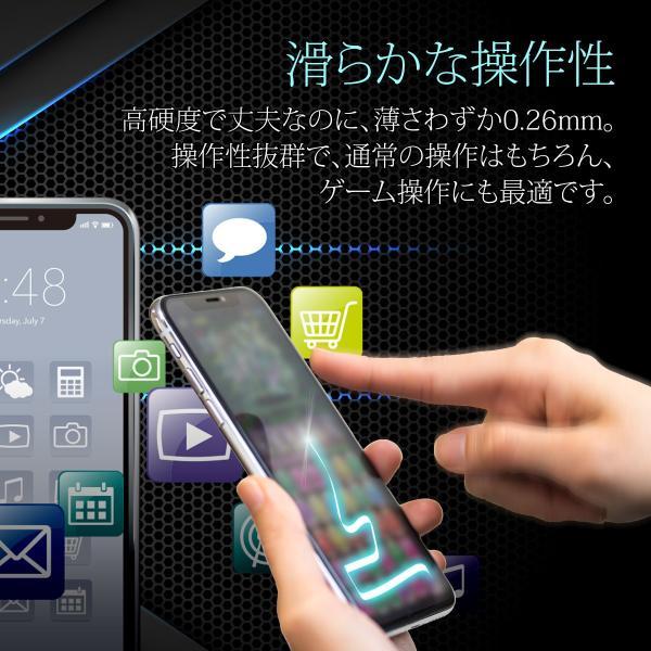 iPhone 保護フィルム 強化ガラス ブルーライトカット iPhoneXR iPhoneXS Max iPhone8 7 Plus 各種対応 硬度9H アイフォン|i-concept|10