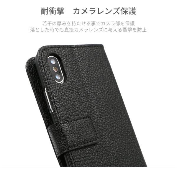 iPhone7 ケース 手帳型 iPhone8 iPhoneX 耐衝撃 おしゃれ Android スマホケース レザー カバー アイフォン8 スタンド機能 携帯ケース|i-concept|08