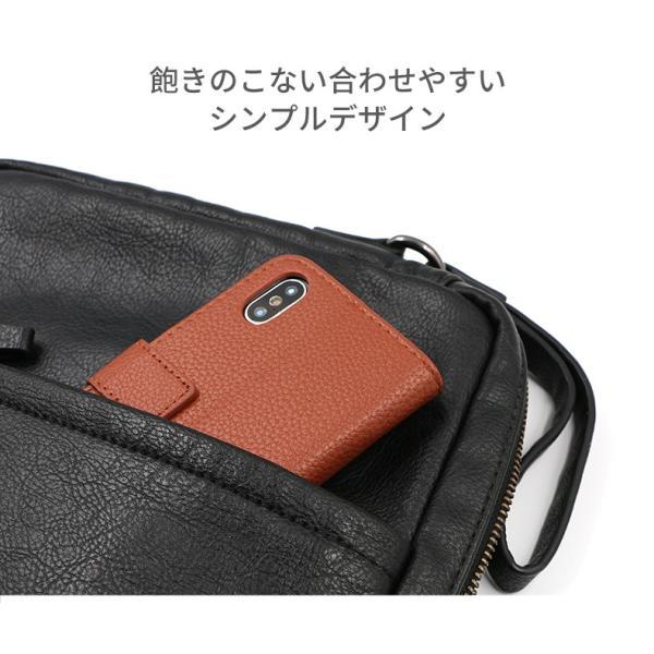 iPhone7 ケース 手帳型 iPhone8 iPhoneX 耐衝撃 おしゃれ Android スマホケース レザー カバー アイフォン8 スタンド機能 携帯ケース|i-concept|09