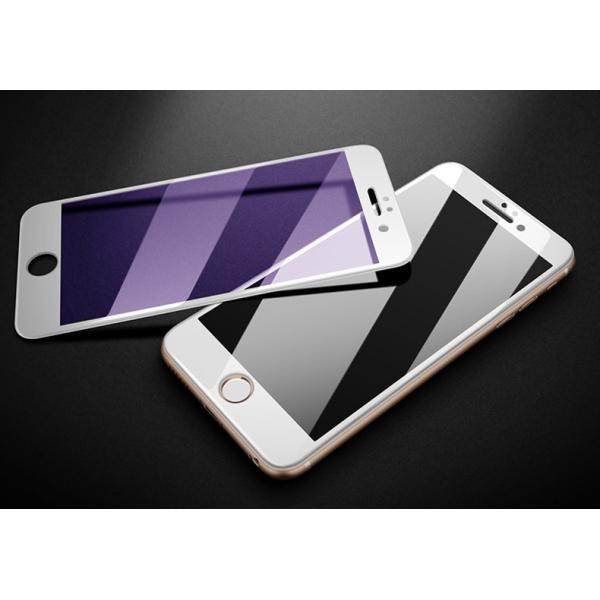 iPhone 強化ガラスフィルム 保護フィルム ブルーライトカット iPhone8 iPhone7 iPhone6 Plus 対応 フィルム 全面保護 PET3Dソフトエッジ i-concept 14