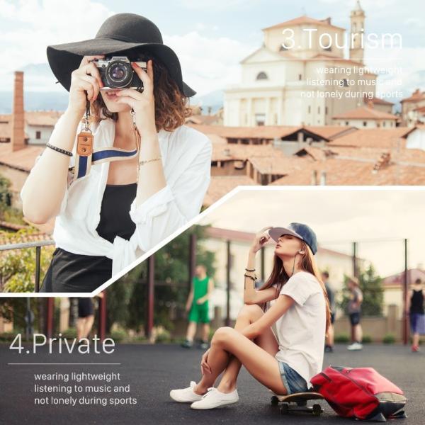 ワイヤレス イヤホン bluetooth 高音質 apt-X 両耳 iPhone X 8 7 Plus Android ブルートゥース 4.1 軽量 ステレオ アルミ マイク搭載|i-concept|14
