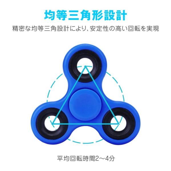 ハンドスピナー Hand Spinner 三角 軽量 知育玩具 ストレス解消 子供 おもちゃ 特価セール|i-concept|04
