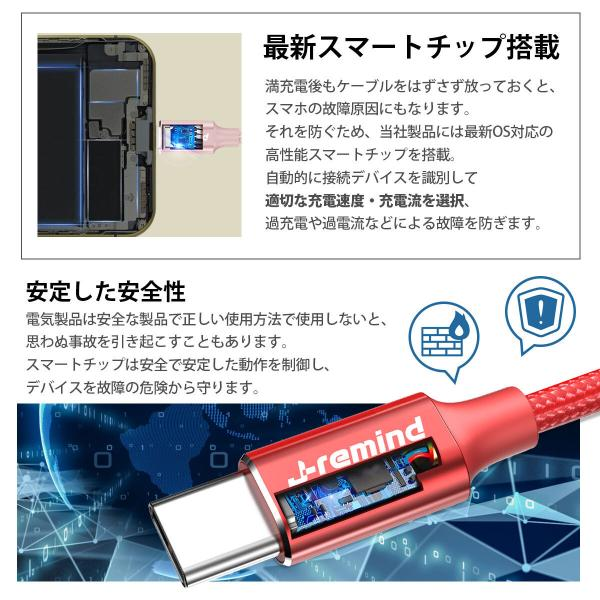 usb type-c Type-C 充電ケーブル 充電器 Android 充電 ケーブル 1m 1.5m 50cm 25cm USB 急速充電 断線防止 データ転送 Switch Huawei Xperia ZenFone Galaxy|i-concept|09