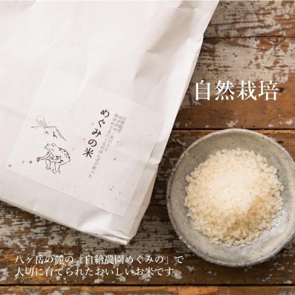 無農薬無肥料の自然栽培 めぐみの米 3kg i-crtshop