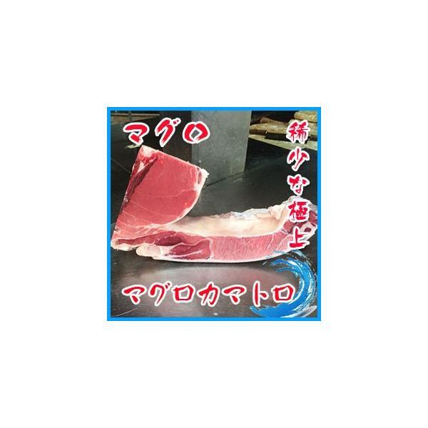 極上絶品 デカ カマトロ刺身 天然 本マグロ カマ 1個 約1〜2kg前後 稀少