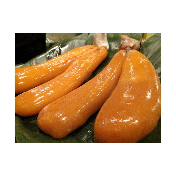 【超高級食材】 生 カラスミ 1kg    約3〜4腹   ボラの卵 からすみ|i-ichiba|02