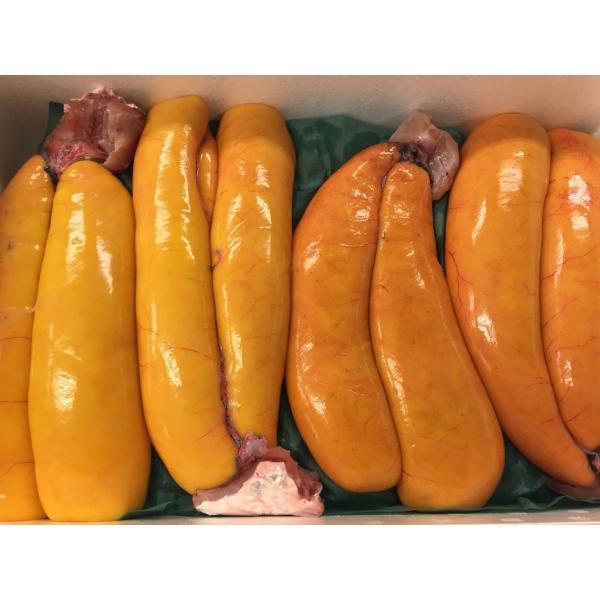 【超高級食材】 生 カラスミ 1kg    約3〜4腹   ボラの卵 からすみ|i-ichiba|03