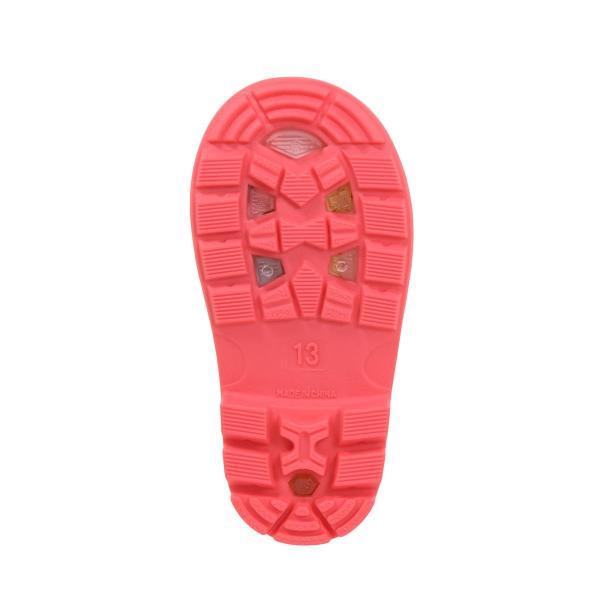 ミキハウス ホットビスケッツ (MIKIHOUSE HOT BISCUITS) レインブーツ 70-9412-610 15cm ピンク|i-labo|04