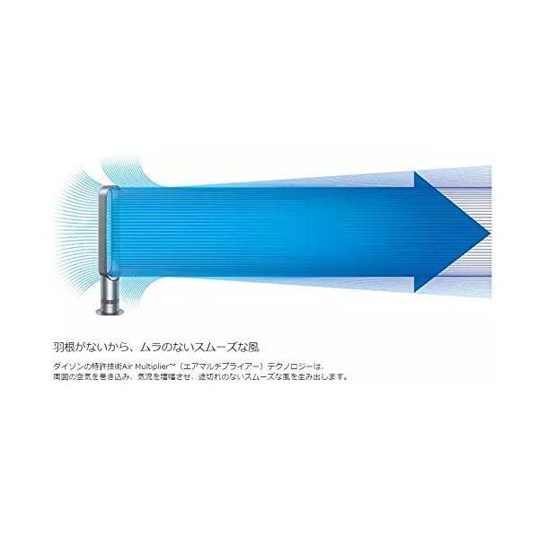 Dyson/ダイソン AM07 リビングファン 扇風機 Dyson クール AM07LFWS ホワイト/シルバー i-labo 04