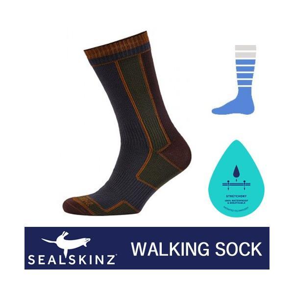 bffef5ffcb8e7 SealSkinz シールスキンズ 完全防水ソックス Walking Sock 防水靴下 ウォーキング 1111409|i- ...