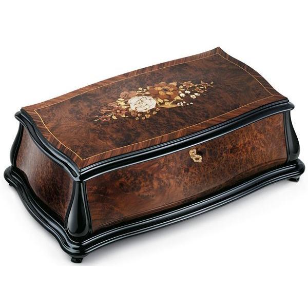 REUGE リュージュオルゴール アイボナのこぶ材とローズウッド 144弁4曲