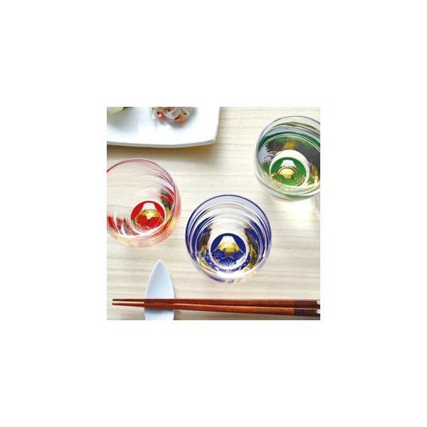 東洋佐々木ガラス 祝福杯 富士見松竹梅 杯3種揃え|i-matsumoto|02