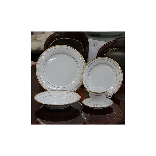 ノリタケ 食器 ハンプシャーゴールド20pcディナーセット(海外用)|i-matsumoto|05