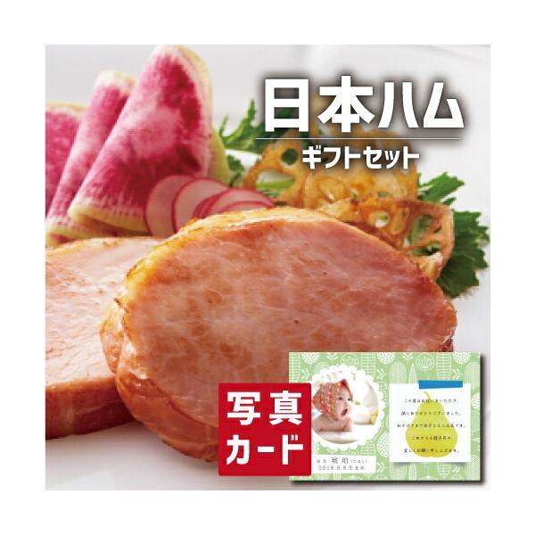 お中元 出産 結婚 内祝い 出産内祝い 出産祝い お返し ランキング 日本ハム ギフト セット B 肉 ハム 食品 (SK)軽 3000円