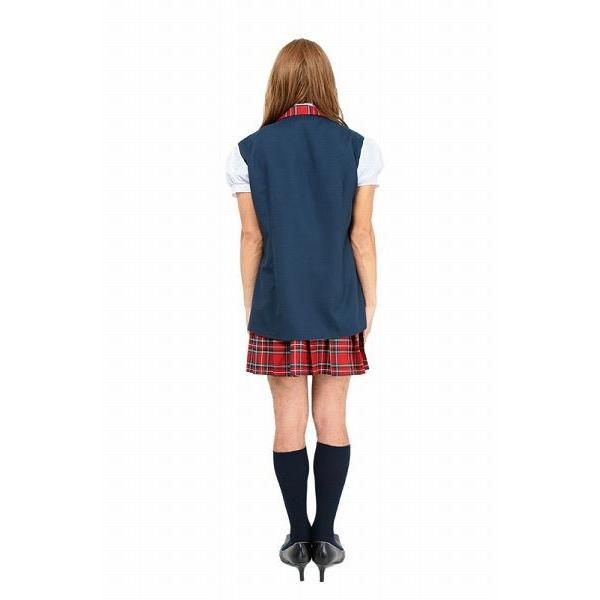 AKB48 コスプレ 衣装 コスチューム 女装 ダンス イベント/ アイドル制服ユニットBメンズ (チェック柄制服2メンズ) (A-0839_837701/839842)|i-pumpkin|05