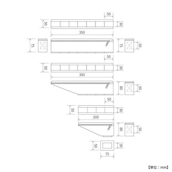 DOPPELGANGER パズルフレームバッグ DFB467-BK | 合計容量1.9L | 3ピースで装着自在 | 固定用ベルト付属 | ドッペルギャンガー|i-shop-sakura|06