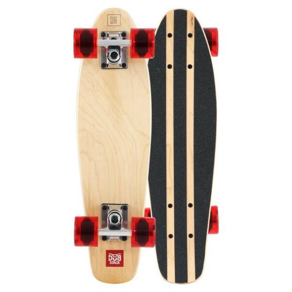 【あすつく】DUB STACK ミニクルージング スケートボード DSB-17 | 7PLY メープルデッキ | ABEC7ベアリング採用 | ダブスタック|i-shop-sakura