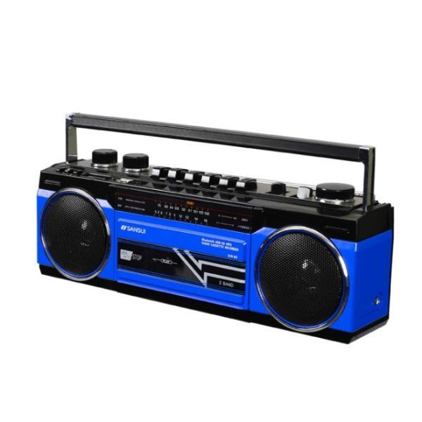 SANSUI Bluetooth対応 ラジカセ | SCR-B2 | 全2色 | ステレオラジオカセット | MP3対応 SDカード対応 2電源 | サンスイ 1年保証|i-shop-sakura|03