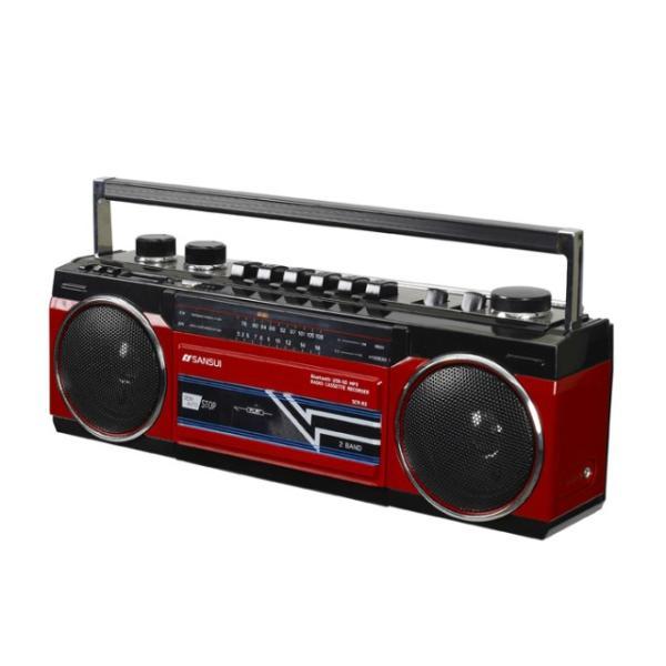 SANSUI Bluetooth対応 ラジカセ | SCR-B2 | 全2色 | ステレオラジオカセット | MP3対応 SDカード対応 2電源 | サンスイ 1年保証|i-shop-sakura|04