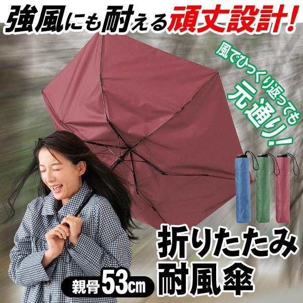 折りたたみ傘大きいサイズ裏返っても簡単に元通り強風に耐えるタフな設計耐風傘96cmメンズレディース携帯ポーチ付丈夫雨傘梅雨対策軽