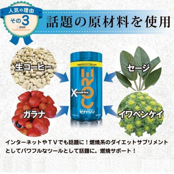 シリーズ最強燃焼 日常生活で無駄なく燃焼を ダイエットサプリメント ゼナドリン コア 安心の正規日本仕様品|i-style01|05