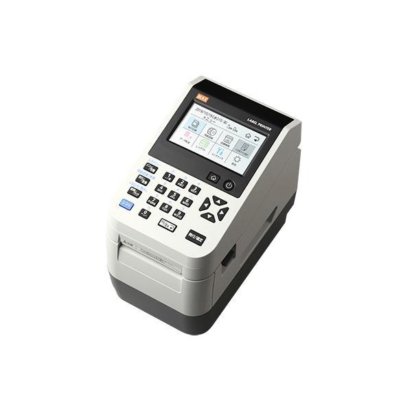 ラベルプリンター 本体 マックス 楽らくラベル LP-502S/DATE 日付やバーコードの印字に簡単に使える