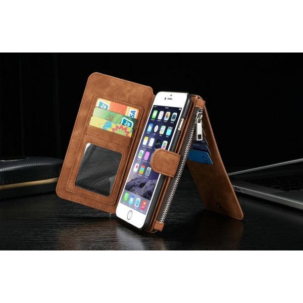 スマホケース 手帳型 iphone6 plus iphone7 plus スマホカバー アイフォン ケース i Phone アイホン 財布  Galaxy 多機能 ウォレット カード 小銭 札入れ iah-rare-case-shop 05