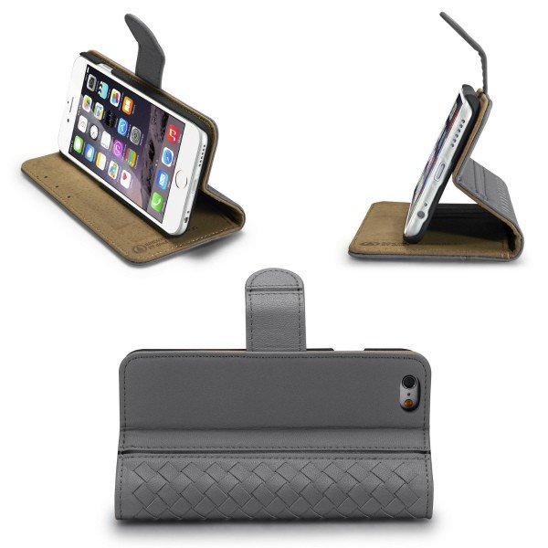 79d7467bf2 ... iPhone ケース iPhone8 スマホケース 手帳型 編み込み iPhone7 Plus iPhoneケース 6s カバー 人気  シンプル シューズ ...