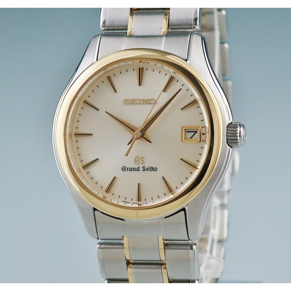 グランドセイコー K18YGxSS製 SBGX002 9F62-0A20 クォーツ メンズ 腕時計 2405001156523 中古|ibe7171