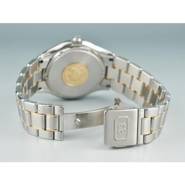 グランドセイコー K18YGxSS製 SBGX002 9F62-0A20 クォーツ メンズ 腕時計 2405001156523 中古|ibe7171|03