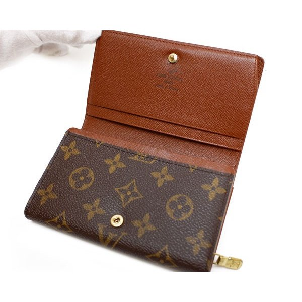 reputable site c87b3 03f7f ルイヴィトン LOUIS VUITTON 二つ折り 財布 コンパクト財布 二 ...