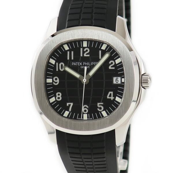パテックフィリップPATEKPHILIPPEアクアノートエクストララージ5167A-001メンズ腕時計自動巻きブラック中古