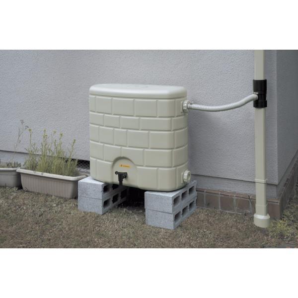 【補助金・助成金制度対応店】 タキロン 雨水貯留タンク 雨音くん120L 家庭用  雨水利用