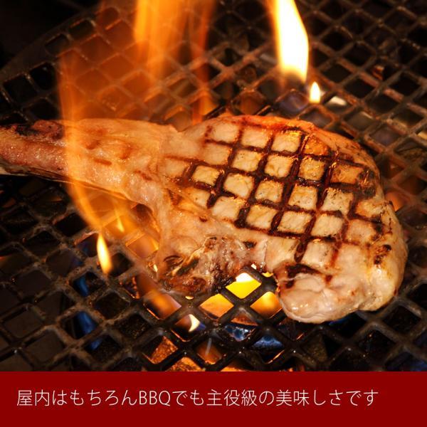 骨付き ステーキ イベリコ豚 5枚入り Lボーンステーキ 骨付き肉 エルボーン 迫力 満点 ステーキ 中元 ギフト 送料無料 冷凍|iberico-ya|06