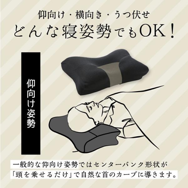 枕 まくら ストレートネック 肩こり 首こり ピロー 整体師 おすすめ ストレートネック RAKUNA整体枕|ibiki-kenkyujyo|15