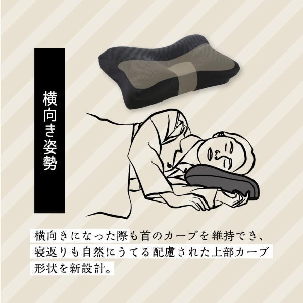 枕 まくら ストレートネック 肩こり 首こり ピロー 整体師 おすすめ ストレートネック RAKUNA整体枕|ibiki-kenkyujyo|16